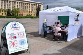В Пензе врачи будут консультировать пензенцев прямо на улицах