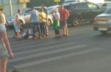 Срочно. НА ГПЗ-24 автомобилист на полном ходу сбил девушку