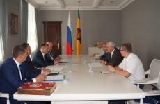 Симонов «благословил» нового председателя Пензенского союза машиностроителей на успех