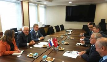 Пензенцы в Турции. Что обсуждали председатель облправительства и вице-мэр Стамбула?