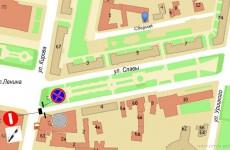 На улице Славы в Пензе временно приостановят движение