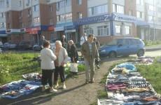 «Блошиный» рынок в Арбеково пришелся не по душе местным жителям