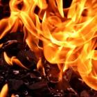 Под Пензой огненная стихия уничтожила сразу несколько гаражей