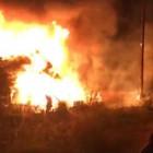 В МЧС прокомментировали жуткий пожар на Саранской в Пензе