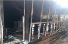В МЧС прокомментировали жуткий пожар в пензенском ресторане «Очаково»