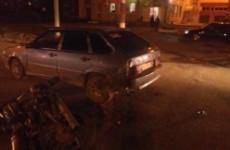 В Чемодановке под Пензой случилась серьезная авария с мотоциклистом