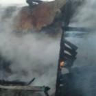Страшный пожар в Каменском районе тушили 6 человек