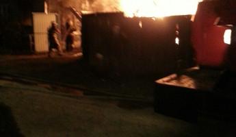 Смертельный пожар в Пензенской области попал на видео