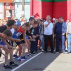 Белозерцев открыл традиционную легкоатлетическую эстафету в Сердобске