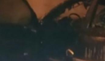 В Пензе 6 спасателей тушили полыхающую Audi Q7