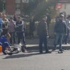 Жесть на дороге. ДТП с участием мотоциклиста в Пензе попало на видео