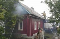Семь спасателей тушили жилой дом в Пензенской области
