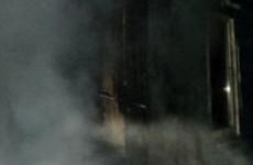 Пять спасателей тушили серьезный пожар в Бессоновке на рассвете
