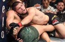 Чемпион UFC Хабиб Нурмагомедов победил Конора Макгрегора