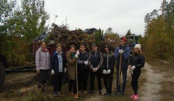 Субботник студентов из Пензенской области прошел на кладбище