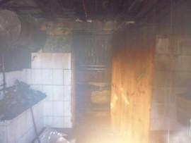 Серьезный пожар на Кураева в Пензе тушили 8 человек