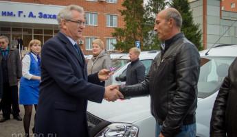 Для медучреждений в Пензенской области закупили 13 автомобилей