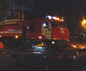 В Пензе произошел серьезный пожар возле детского сада