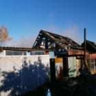 Семь спасателей тушили серьезный пожар в Каменском районе