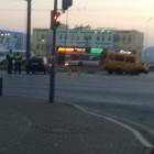 В Пензе маршрутка развалилась прямо на дороге в результате аварии