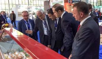 Глава Минпромторга РФ Денис Мантуров продегустировал пензенское мороженое