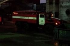 Десять спасателей тушили жуткий пожар под Пензой