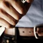 Зареченец всадил нож в грудь жены