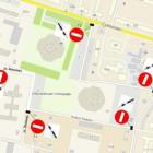 3 и 4 ноября в Пензе перекроют несколько улиц
