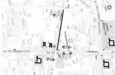 В Пензе временно перекрыта часть улицы Кураева