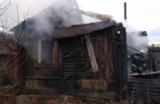 Страшный пожар в Пензенской области тушили 10 пожарных