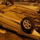 """Очередной """"перевертыш"""" в Пензенской области: при опрокидывании """"Шкоды"""" пострадали несколько человек"""