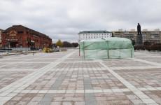 В Пензе подходят к концу ремонтные работы на площади Ленина