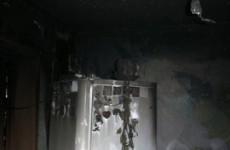 В Кузнецке девять человек тушили горящий холодильник