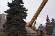 В Пензе началась подготовка к новогодним праздникам