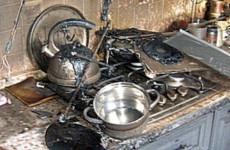 Страшный пожар в Арбеково в Пензе тушили 9 спасателей