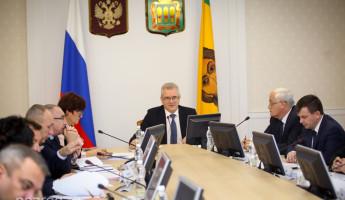 В правительстве Пензенской области обсудили подготовку к Новому году