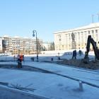 Уже завтра на площади Ленина начнут устанавливать новогоднюю елку