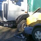 В Кузнецке маршрутка столкнулась с «МАЗом»: пострадали шесть человек