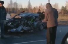 «Семерка» превратилась в груду металла: три человека погибли в жутком ДТП под Мокшаном