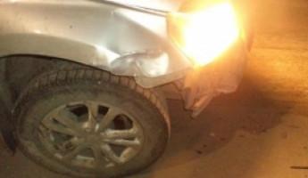 В Пензе разбились две иномарки, есть пострадавший
