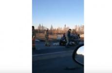 Автокатастрофа под Мокшаном попала на видео
