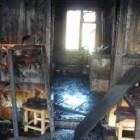 Ночью пензенские спасатели тушили комнату в жилом доме