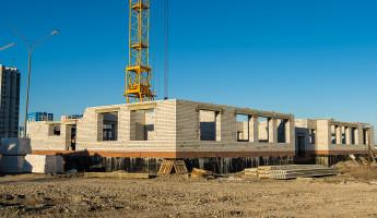 В Спутнике активно ведется строительство нового детского сада