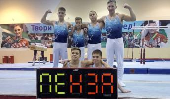 На Всероссийских соревнованиях пензенские гимнасты взяли 10 медалей