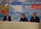 Дороги, вода и зарплаты: о чем спрашивали жители области Ивана Белозерцева