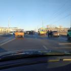 Соцсети - В Пензе на гагаринском мосту произошла массовая авария