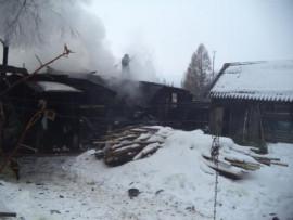 В Пензе в страшном пожаре погиб человек