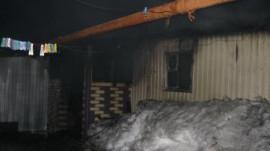 Пожар в Бессоновском районе чуть не закончился гибелью человека