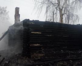 Сегодня в страшном пожаре в Пензенской области погибла женщина. ВИДЕО.