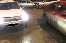 Жесткое ДТП в Пензе: на улице Ленина лоб в лоб столкнулись две легковушки